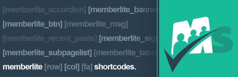 Memberlite Shortcodes Banner