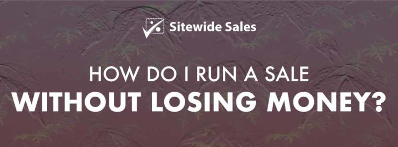 Banner for post: How do I run a sale without losing money?