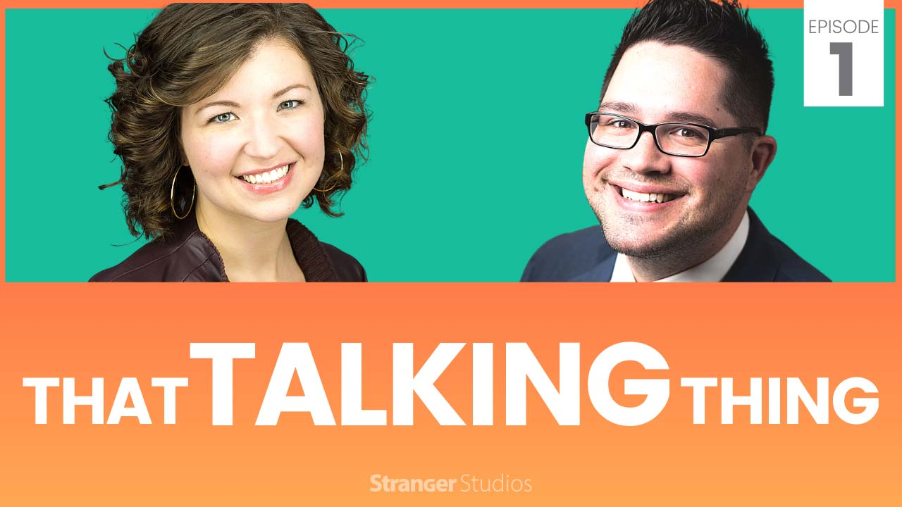 Episode 1 Banner: That Talking Thing Podcast