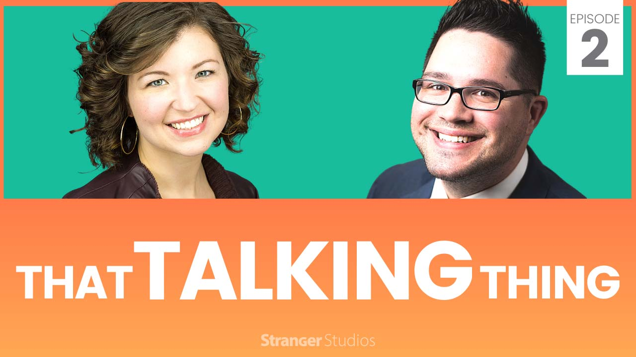Episode 2 Banner: That Talking Thing Podcast