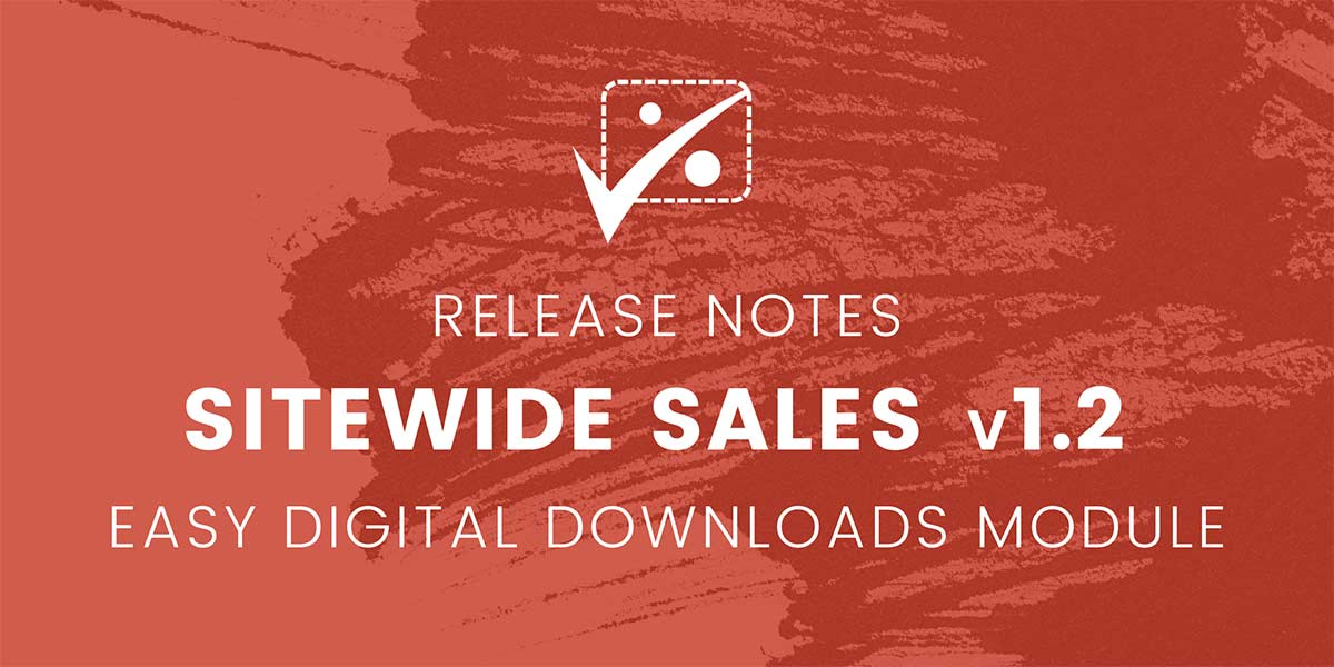 Banner for Sitewide Sales version 1.2 Release Notes