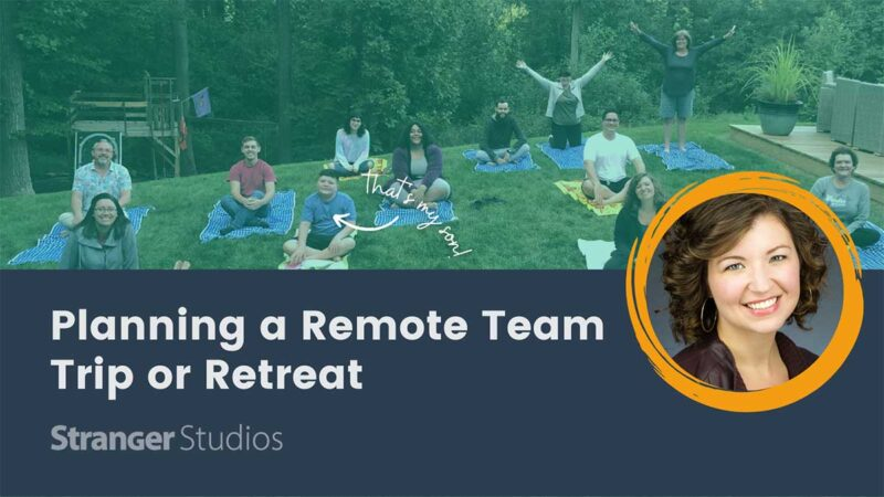 Banner for Planning a Remote Team Trip or Retreat